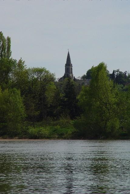 ロワール川 の風景 (アンジェ近郊) Angers, France 2004/04/25 Photo by Kohyuh