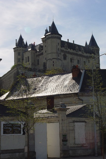 ソーミュール城 Chateau de Saumur, France 2004/04/25 Photo by Kohyuh